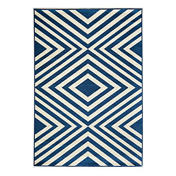 Costa Mesa Indoor Outdoor Rug Blue