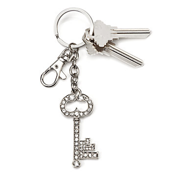 Crystal Key Keychain Keychains Decor Z Gallerie