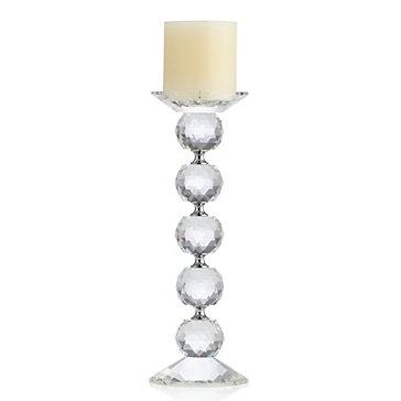 Crystal Orb Pillar Holder