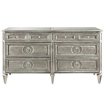 Empire 6 Drawer Low Dresser