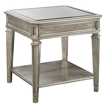 Empire End Table Mirrored End Tables Collections Z