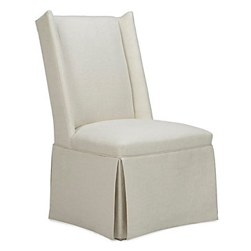 Everly Skirted Side Chair