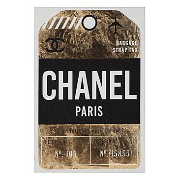 Fashion Pass Luggage Tag