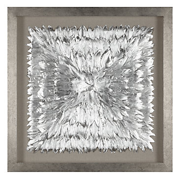 Feathered Silver