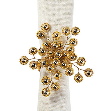 Firethorn Napkin Ring - Set of 4