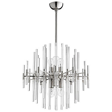 Galaxy chandelier polished nickel clearly chic collections z galaxy chandelier polished nickel aloadofball Choice Image