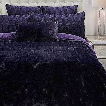 Geneva Blanket Collection - Aubergine