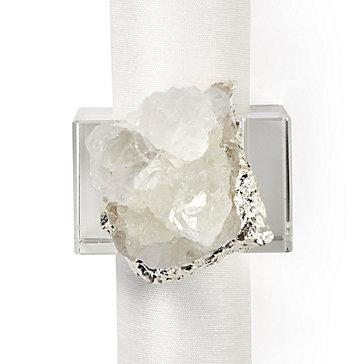 Geode Napkin Ring - Set of 4
