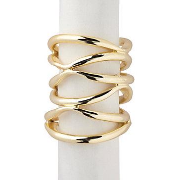 Gia Napkin Ring - Set of 4