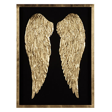 Gilded Wings Luxe For Less Art Luxe For Less Z Gallerie