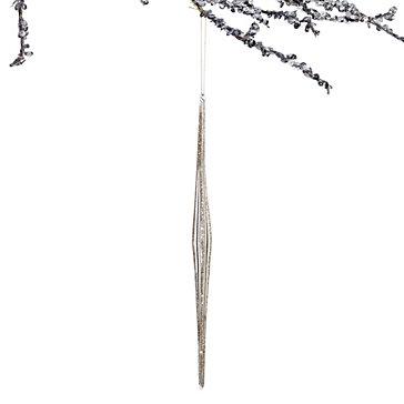 Glitter Finial Ornament by Z Gallerie