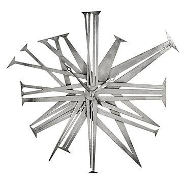 Grand Minerva Wall Clock Silver Color Guide Trends