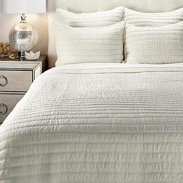 Halden Bedding - White