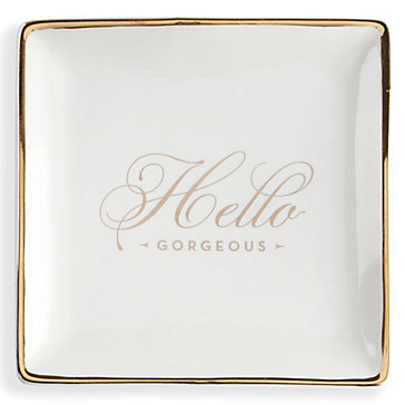Hello Gorgeous Trinket Tray Glimmer Amp Glam Gifts Gifts