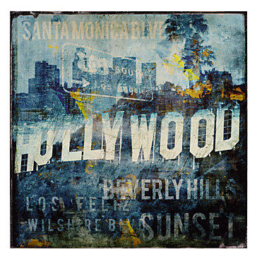 Hollywood Land Canvas Art By Type Art Z Gallerie