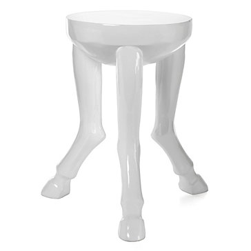 Hoof Legged Accent Table End Tables Occasional Tables
