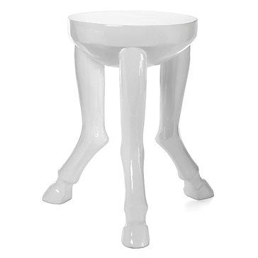 Hoof Legged Accent Table