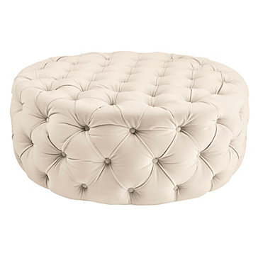 Bon Jules Round Ottoman | Small Seating U0026 Ottomans | Small Spaces | Z Gallerie
