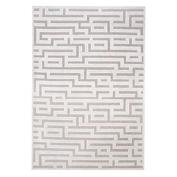 Marvelous Labyrinth Rug   Ivory