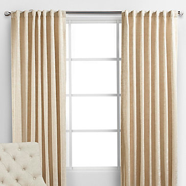 Larkin Panels Ivory Curtain Rods Collections Z