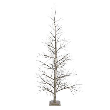 LED Glitter Tree 7'