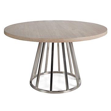 Lex Pedestal Dining Table Amethyst Lex Dining Room