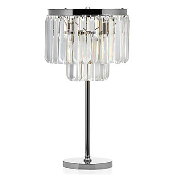 Charming Luxe Crystal Table Lamp
