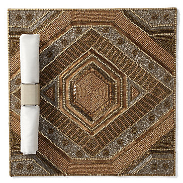 Luxor Beaded Placemat