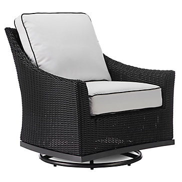 Malibu Outdoor Swivel Glider Chair