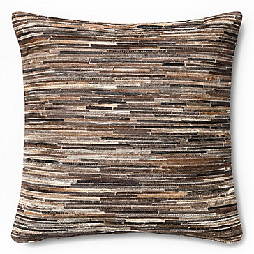 Mateo Hair On Hide Pillow 22""
