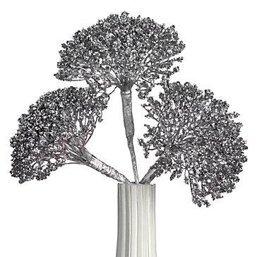 Metallic Dandelion - Set of 3