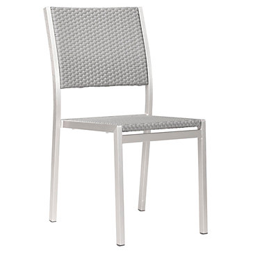 Metro Outdoor Armless Dining Chair  sc 1 st  Z Gallerie & Metro Outdoor Armless Dining Chair | The Metro Outdoor Collection ...