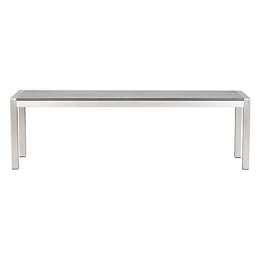 Metro Outdoor Dining Bench