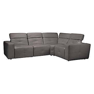 Milan Reclining Sectional - Grey