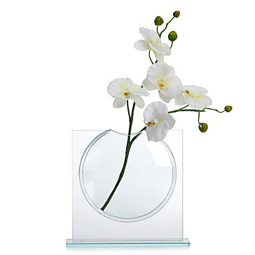Mini Ellipse Vase Sapphire Brooklyn Dining Room