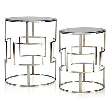 Mirage Tables   Set Of 2