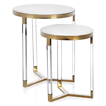Murano Tables - Set of 2  sc 1 st  Z Gallerie : tables set - pezcame.com