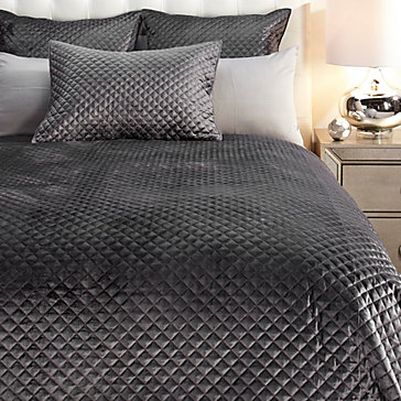 Newbury Bedding - Charcoal
