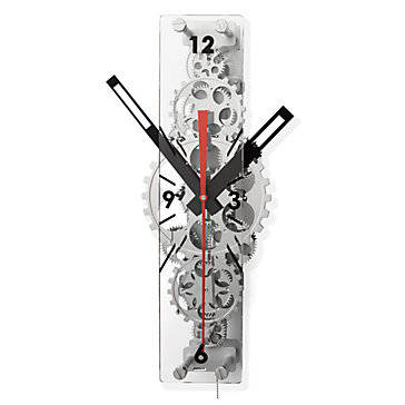 Oblong Gear Wall Clock Z Gallerie