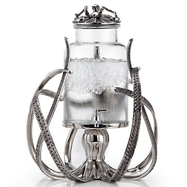 Octopus Beverage Dispenser Coastal Archer Dining Room