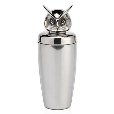 Owl Cocktail Shaker