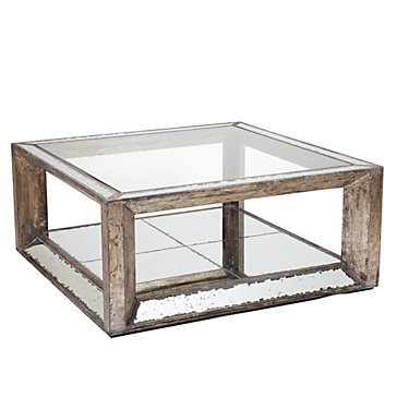 Pascual Mirrored Coffee Table Z Gallerie - Pascual coffee table