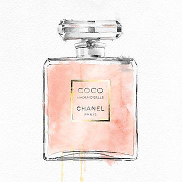 Perfume Bottle Blush Pink