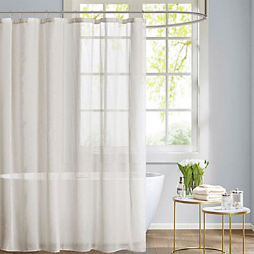 Using Regular Curtains For Shower Sheer Shower Curtain This Tips For