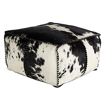 Rory Hair On Hide Pouf Ottomans Living Room Furniture Z Gallerie Delectable Hide Pouf