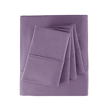 Saratoga Sheet Set - Amethyst