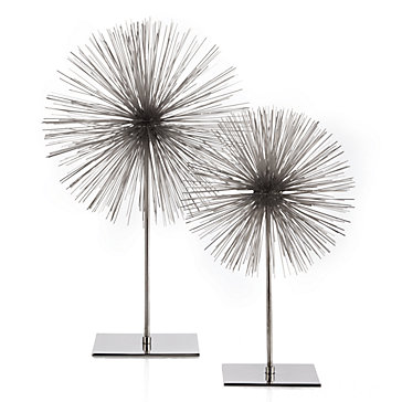 Scoppio Sphere On A Stand Modern Metallics Spring