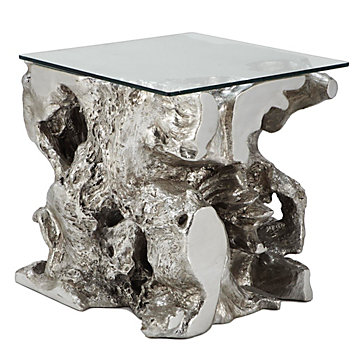 Sequoia End Table Silver Color Guide Trends Z Gallerie