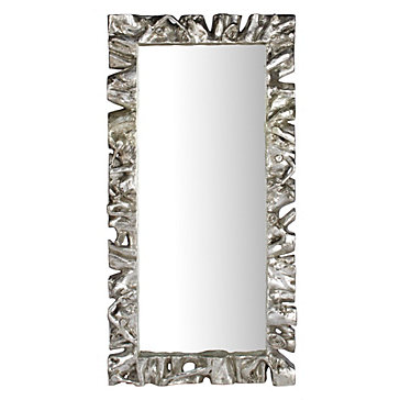 Sequoia leaner mirror modern metallics spring trends for Mirror z gallerie