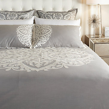 Serenity Bedding - Light Grey